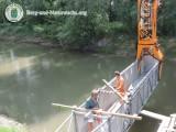 Fertigstellung der Leithabrücke in Rohrau | Foto: Berg-und-Naturwacht.org