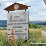 irreführende und nicht bewilligte Werbetafel | Foto: Berg-und-Naturwacht.org