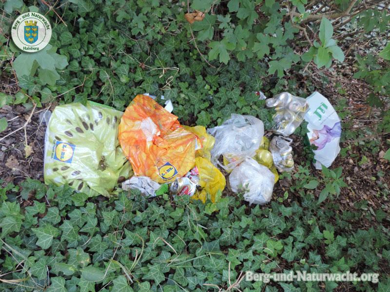 illegale Müllentsorgung im Siedlungsgebiet | Foto: Berg-und-Naturwacht.org