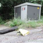 illegale Ablagerungen auf der Thebnerstraße in Hainburg | Foto: Berg-und-Naturwacht.org