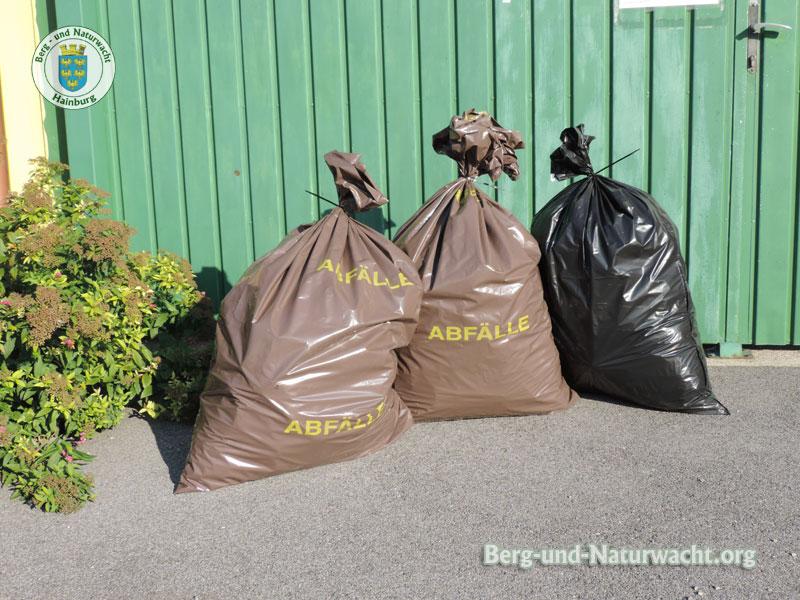 Müllentsorgung über den Bauhof in Wolfsthal | Foto: Berg-und-Naturwacht.org