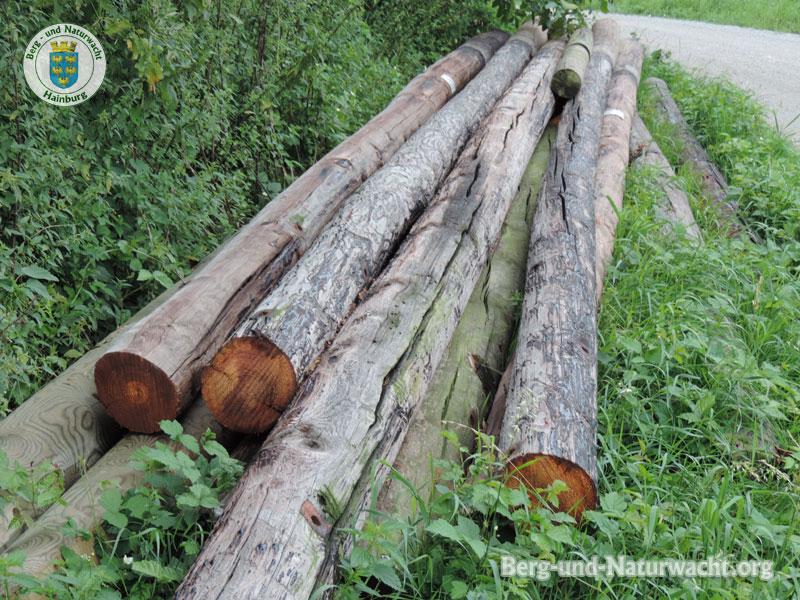fragwürdige Zwischenlagerung von gefährlichen Abfällen in Hainburg | Foto: Berg-und-Naturwacht.org