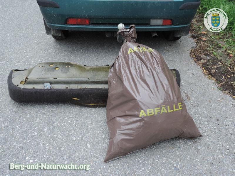 14kg gesammelte Abfälle | Foto: Berg-und-Naturwacht.org