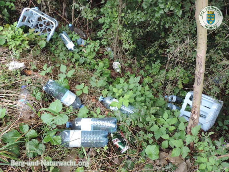 Nationalpark Donau Auen - Natura 2000 - Räumung illegaler Müllablagerungen durch die NÖ Berg- und Naturwacht Hainburg | Foto: Berg-und-Naturwacht.org