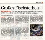 Medienbericht der NÖN über Einsatz der NÖ Berg- und Naturwacht Ortseinsatzleitung Hainburg in Wolfsthal | (C) by NÖN