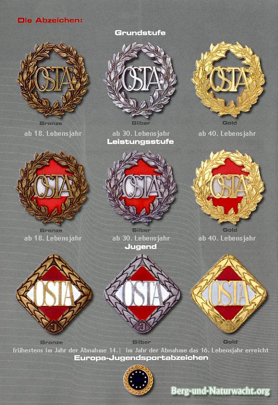 Das Österreichische Sport- und Turnabzeichen ÖSTA und das Österreichische Sport- und Turnabzeichen für Jugendliche ÖSTA-J