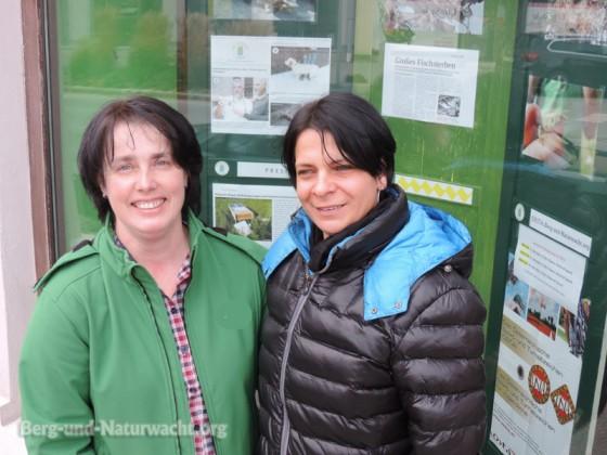 Geschäftsinhaberin Maria Dolecek und Vorstandsmitglied Michaela Tittlies | Foto: Berg-und-Naturwacht.org